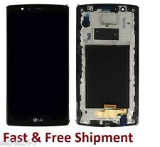 LG G4 H810 H811 H812 VS986 LCD Screen with Digitizer Touch & Bezel Frame Black