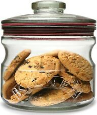 Kilner Push Top Storage Cookie Biscuit Pasta Cereals Airtight Glass Jar .65 lt