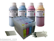 4 Refillable ink cartridge for Brother LC75 MFC-J6510DW MFC-J6710DW +4x250ml