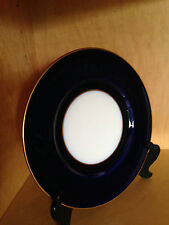 ROYAL WORCESTER Made In ENGLAND COBALT BLUE DINNER PLATE FINE BONE CHINA VINTAGE