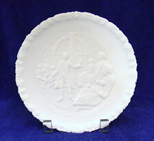 "Fenton~1776-1976~""Give Me Liberty or Give Me Death"" Plate #1 ~ 1973 ~White Satin"
