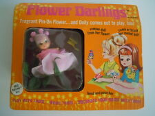 Vintage 1968 Hasbro Flower Darlings Rose Darling # 8575 Mint On Card  ADORABLE !