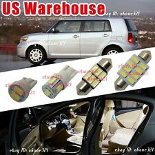 12pc Luxury White LED Interior Lights Package Dome Kit For 08-15 Scion xB xD