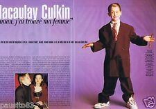 Coupure de presse Clipping 1998 Macaulay Culkin  (3 pages)