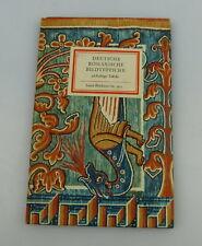 Insel Bücherei: Inselbuch Nr.915 deutsche romantische Bildteppiche bu0517