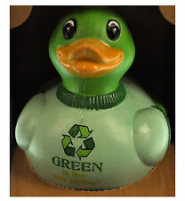 Mr. Green - Recycled Green Rubber Duck - Celebriduck