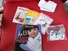 American Girl lot of books and accessories NICE!!
