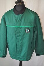 Vintage Dickies green work wear jacket skoda Auto logo size Large 44""