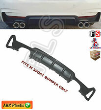 BMW F32 F33 F36 4 SERIES PERFORMANCE M SPORT REAR DIFFUSER EXHAUST VALANCE 12 UP