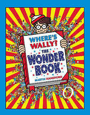 Where's Wally?: The Wonder Book with Magnifying Glass-ExLibrary