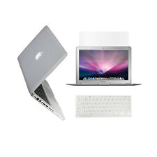 "3in1 CLEAR Rubberized Case for Macbook Pro 13"" A1425 Retina display +Key +LCD"