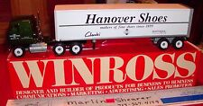 HANOVER SHOES CLARKS AND BOSTONIAN SINCE 1899  1991TRACTOR TRAILER WINROSS TRUCK