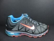Nike Air Max 2011 360 Womens Size 8.5 Shoes Black Pink Blue Grey 429890 064