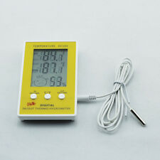 Newest Digital Indoor Outdoor Thermo Humidity Thermometer Hygrometer Clock Alarm
