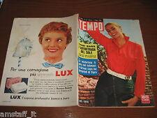 RIVISTA TEMPO 1956/23=ANITA EKBERG=AUTOSTRADA DEL SOLE=ISLANDA= SHIRLEY MAcLAINE