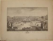 incisione gravure Place de la Concorde Place de Louis XV Paris engraving