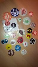 Collection of 25 pin padges (including top gear)
