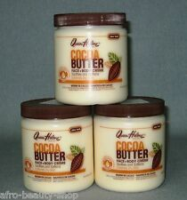 3 x QUEEN HELENE - Cocoa Butter-  Face + Body Creme Southe and Softens - 1.275 g