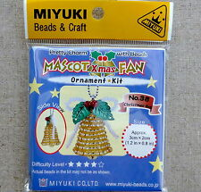 MIYUKI MASKOT DIY KIT XMAS BELL CHRISTMAS BELL Stocking Filler