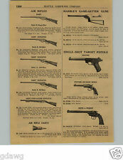 "1924 PAPER AD Marble's 18"" Game Getter Gun Daisy Air Rifle BB Guns Pump Dart"
