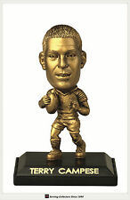 *2009 Select NRL LIMITED EDITION GOLD FIGURINE No.9 Terry Campese (Raiders)