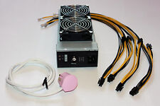 IBM Power Supply 2000W PSU 10x6pin KNC ASIC Antminer S7/S9 Bitcoin 10x6pin ETH