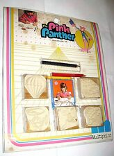 PINK PANTHER Pantera Rosa 1984 Multiprint italy ink stamp set -set timbrini misb