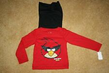 INFANT BOYS ANGRY BIRDS SPACE LONG SLEEVE T-SHIRT w/CAPE - Size 24 Months (NWT)