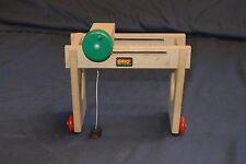 Genuine BRIO Sweden Wooden Railway 31405-36 3323 Gantry Crane - Used Condition