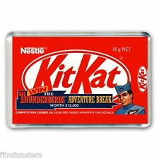 RETRO 90's NOSTALGIA -THUNDERBIRDS - KIT KAT WRAPPER- JUMBO FRIDGE MAGNET #3