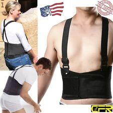 Back Support Belt Work Adjustable Waist Brace Lumbar Heavy Lift Hard Works M -G3