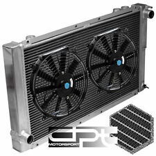 "FOR SUBARU IMPREZA WRX GC/GC8 MT/MANUAL 2 ROW/CORE ALUMINUM RADIATOR+2X 10"" FANS"
