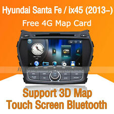 "8"" Car Dash DVD Player GPS Navigation Radio for Hyundai ix45 Santa Fe 2013 2014"