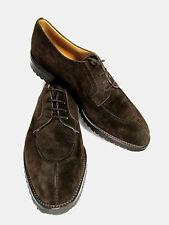 GRAVATI, WILSON & DEAN for Wilkes Bashford Suede Color:Dark Brown, Size:10 1/2 M