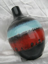 VASO Fat Lava Ruscha W. GERMANY 70s Blue Red Black Colours