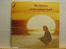 """★★ 12"""" LP - NEIL DIAMOND - Jonathan Livingston Seagull - OST - UK Press Booklet"""