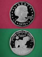 1979 S Proof Susan Anthony Dollar Deep Cameo Flat Rate Shipping