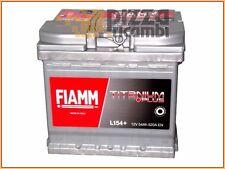 *FRP*BATTERIA AVVIO AUTO DX+ 12v 54Ah EN 520A FIAMM TITANIUM PLUS L154+ battery