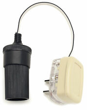 2 PIN PLUG - ADAPT - IT 3 -  12V / 12 VOLT CIGAR CIGARETTE LIGHTER ADAPTOR