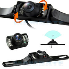 Waterproof HD Wide Angle License Plate Car Rear View Backup Camera Night Vision