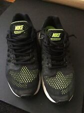 Nike Air Zoom Pegasus 31, Men's Size 9.5 Black/Neon 652925-010