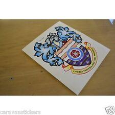 LUNAR Crest Retro Caravan Sticker Decal Graphic - SINGLE