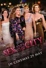 SEX AND THE CITY: THE MOVIE Movie POSTER C 27x40 Sarah Jessica Parker