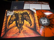 "Ghostrider ""Mayhemic Destruction"" LP Limited Edition, Orange F.O.A.D. 019 Italy"