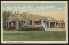 POSTCARD MONTEREY PA/PENNSYLVANIA GOLF COURSE COUNTRY CLUBHOUSE 1910'S