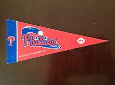 "Philadelphia Phillies MLB Mini Pennant Rico 9"" Felt"
