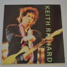 KEITH RICHARDS - INTERVIEW 1983 - 1990 UK LP YELLOW COLOR VINYL