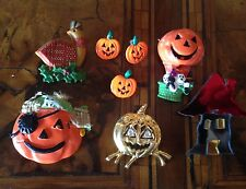 Rare! Vintage Lot Halloween Brooches Lotto Spille  (lot 17)