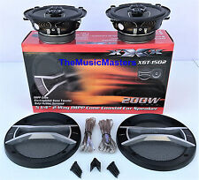 """Pair 5 1/4"""" Quality Coaxial 2-Way Car Audio Stereo Radio Replacement Speakers"""