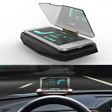 Car GPS HUD Head Up Display Cellphone Holder Mount For Smart Phone Navigation